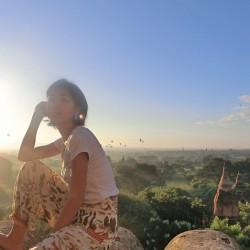 #19 感動の朝日!IN バガン.ミャンマー